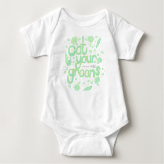 Body Para Bebê coma seus verdes