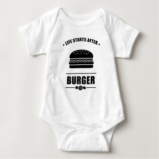 Body Para Bebê Começos da vida após BURGER_NO BG