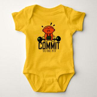 Body Para Bebê Cometa para ser treinamento apto da força do bebê