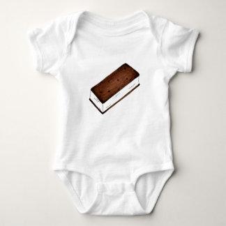 Body Para Bebê Comida lixo de creme do sanduíche de Vanilla Ice