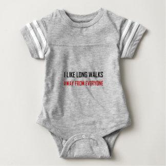 Body Para Bebê Como caminhadas longas longe de todos