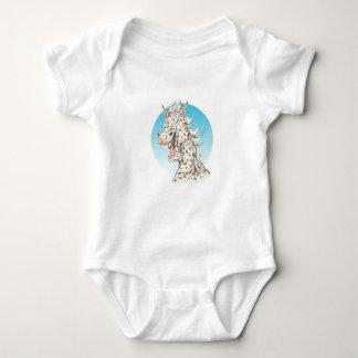 """Body Para Bebê Companheiro do cavalo do Appaloosa do """"dominó"""" de"""