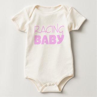 Body Para Bebê Competindo o bebê (rosa)