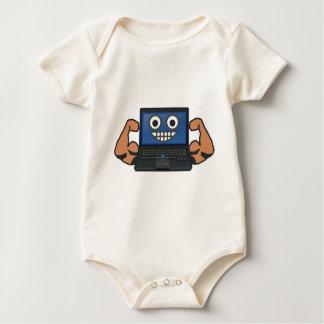 Body Para Bebê Computador forte
