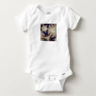 Body Para Bebê Conchas e mais