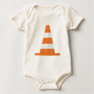 Body Para Bebê Cone da segurança