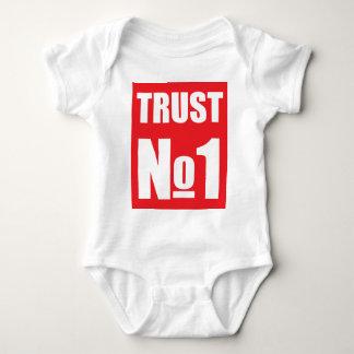 Body Para Bebê Confiança ninguém