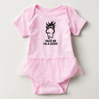 Body Para Bebê Confie que eu mim é um cozinheiro!