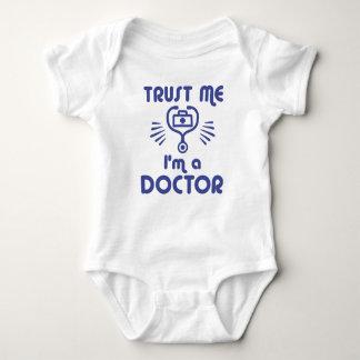 Body Para Bebê Confie que eu mim é um doutor
