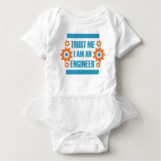Body Para Bebê Confie que eu mim é um engenheiro