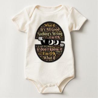Body Para Bebê Confuso