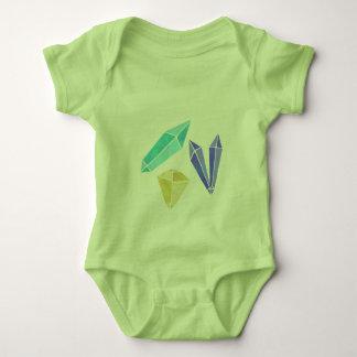 Body Para Bebê Conjunto de cristal um Bodysuit da parte