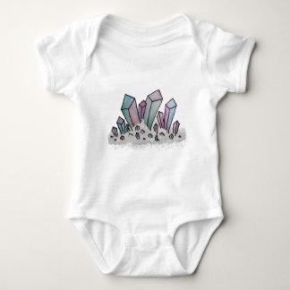 Body Para Bebê Conjunto Pastel do cristal da aguarela