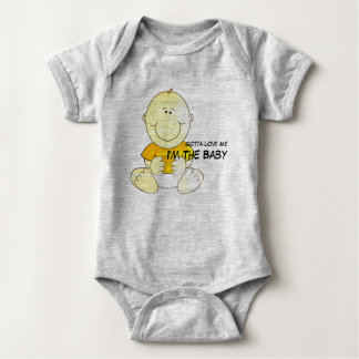 Body Para Bebê Conseguiu amar-me que eu sou o bebê