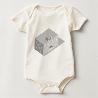 Body Para Bebê Construção do hotel