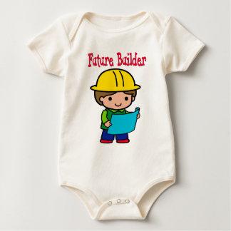 Body Para Bebê Construtor futuro