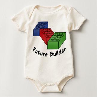 Body Para Bebê Construtor futuro - blocos de apartamentos