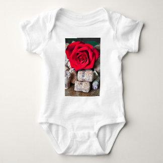 Body Para Bebê CONVERSAS ROSA with cork