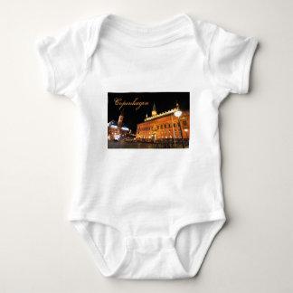 Body Para Bebê Copenhaga, Dinamarca na noite