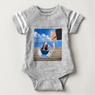 Body Para Bebê Copo do chá