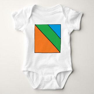 Body Para Bebê cor que obstrui seu verão
