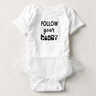 Body Para Bebê coração