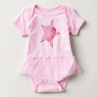 Body Para Bebê Coração cósmico da estrela