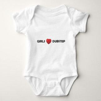 Body Para Bebê Coração Dubstep de Girsl