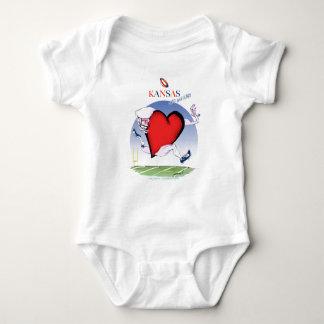 Body Para Bebê coração principal de kansas, fernandes tony