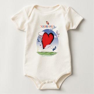 Body Para Bebê coração principal de nebraska, fernandes tony