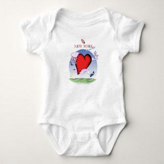 Body Para Bebê coração principal de New York, fernandes tony