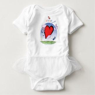 Body Para Bebê coração principal de Utá, fernandes tony
