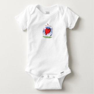 Body Para Bebê Coração principal de Virgínia, fernandes tony