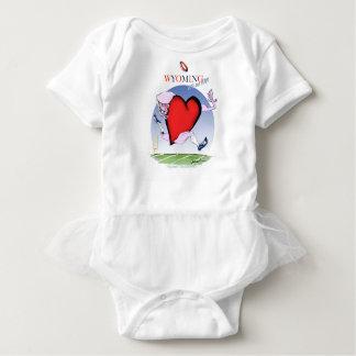 Body Para Bebê coração principal de wyoming, fernandes tony