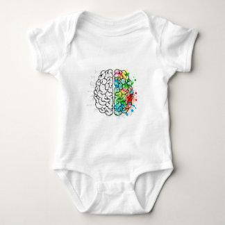 Body Para Bebê corações da ideia da psicologia da mente do