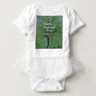 Body Para Bebê Corajoso do suporte e forte firmes