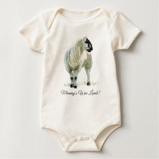 Body Para Bebê Cordeiro pequenino