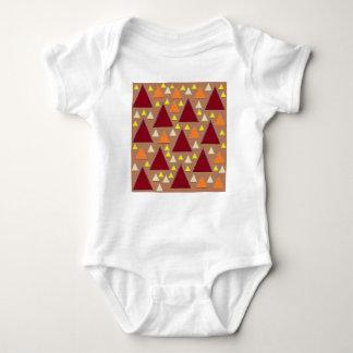 Body Para Bebê cordilheiras cobertas neve da queda do pixel