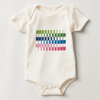 Body Para Bebê cores do inclinação