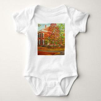 Body Para Bebê Cores do outono do museu do ouro de Dahlonega