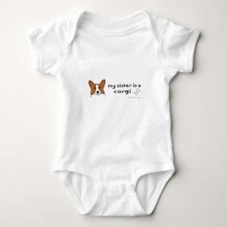 Body Para Bebê corgi