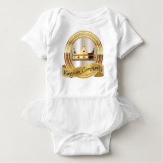 Body Para Bebê Coroa da comunidade do reino