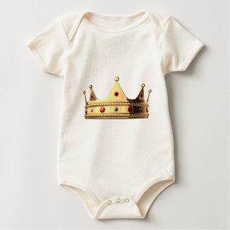 Body Para Bebê Coroa do reino