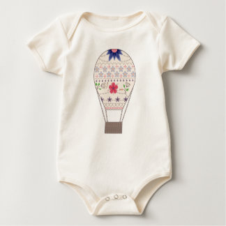 Body Para Bebê Corpo com vintage do balão de ar