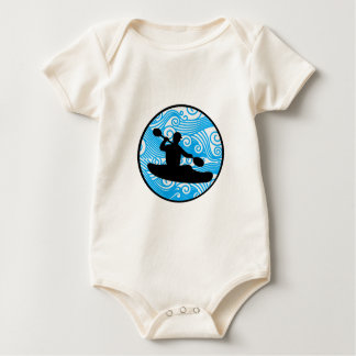 Body Para Bebê Corredor extremo da onda