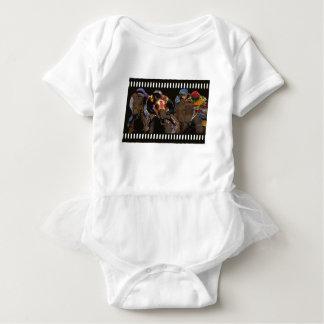 Body Para Bebê Corrida de cavalos na tira do filme