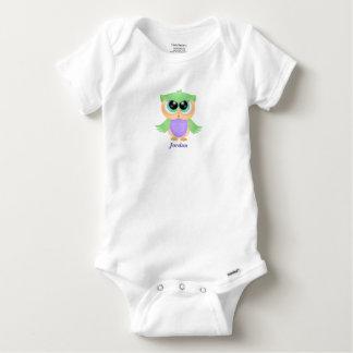 Body Para Bebê Coruja bonito do bebê do bebê