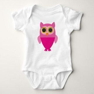 Body Para Bebê Coruja curiosa pequena