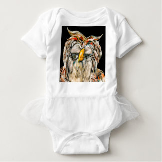 Body Para Bebê Coruja graciosa