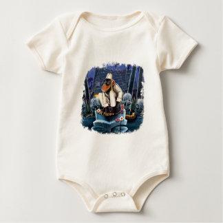 Body Para Bebê Cosmo no palácio da lua